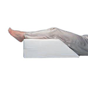 Elevating Leg Rest with White Polycotton Cover