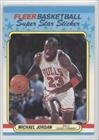 Michael Jordan Chicago Bulls (Basketball Card) 1988-89 Fleer Stickers #7 at Amazon.com