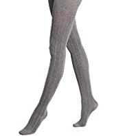 Autograph 100 Denier Chevron Opaque Tights