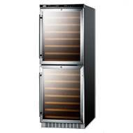 Summit Appliance SWC1875 Dual Zone Built-In Wine
