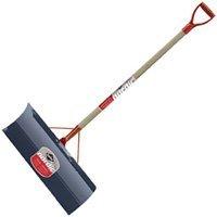 Lowest Price! Garant NSP24DU Nordic 24-Inch Steel Blade Snow Pusher Varnished Ash Handle, Red