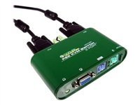 Cables Unlimited 2 Port PS/2 KVM Switch with Audio .