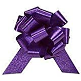 Pull Bows - 10 Purple pull bows - great for pew bows, cars and gift wrapping