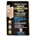 Kitchen Master Compactor Bags 12 / Package