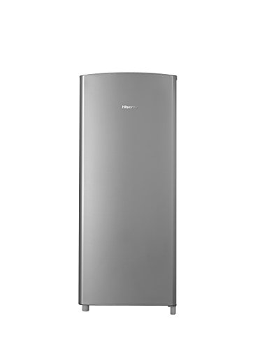 Hisense RR63D6ASE Refrigerator with Single Door and Freezer, 6.3 cu. ft., Stainless Silver (Refrigerators compare prices)