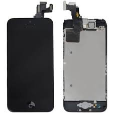 Iphone 5C Black Lcd/Digitizer Full Assembly (Usa Same Day Shipper)