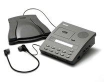 Dictaphone Expresswriter Plus Micro Cassette Desktop Transcription Unit With Headset & Foot Control