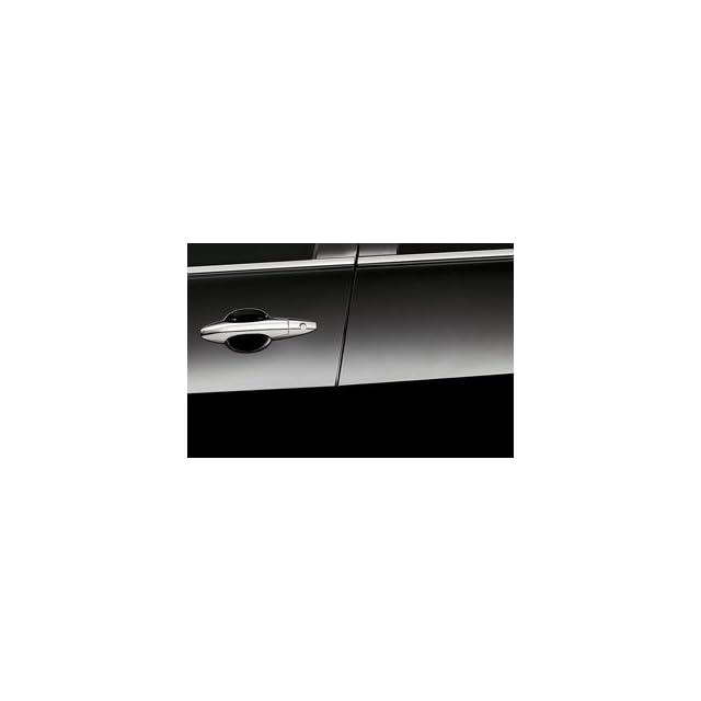 Acura Mdx 2010 2012 Door Edge Guards *Nh731p* (Crystal Black Pearl) Genuine Oem