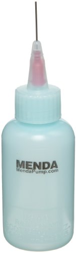 menda-35292-blue-ldpe-esd-dissipative-flux-bottle-with-20-awg-needle-2oz-capacity