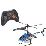 Syma 3 Channel Bubble Blowing Helicopter Gyro 3 Channel With Light, Blue Color