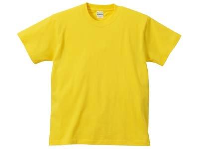 United Athle(ユナイテッドアスレ) | 5001 5.6oz Tシャツ (半袖・無地) イエロー 120cm