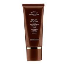 Esthederm Sun Sheen Self-Tanning Face Cream (Light, Progressive Tan) 50Ml/1.7Oz автозагар lancaster self tanning melting delight for face