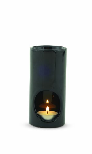 Candle Warmers Etc. Jamie Clair Tea Light Oil Warmer, Black