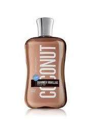 Bath & Body Works Signature Vanillas Coconut Shower Gel 10 Fl Oz Body Coconut Vanilla Bath