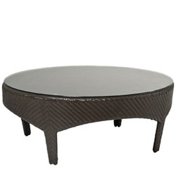 Montego Bay Coffee Table - Rectangular - Wicker Patio Furniture