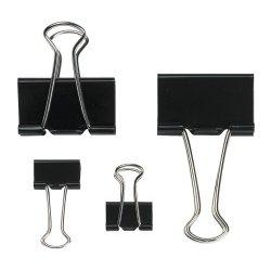 office-depot-3263895-confezione-di-12-fermafogli-in-metallo-19-cm-colore-nero
