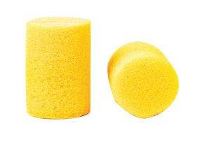 3M 312-1082 Single Use Classic Cylinder Shape PVC Foam Uncorded Earplugs (1 Pair Per Poly Bag 1000 Pair Per Dispenser Box) (1000/PR)