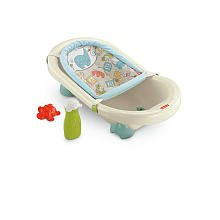 Fisher-Price Animal Krackers Rinsin Fun Baby Bath Tub