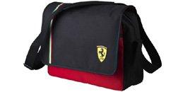 Ferrari メッセンジャーバッグ 2011 NEW (ブラック)