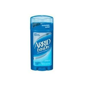 Extra Dry Soft Breeze Invisible Solid Anti-Perspirant & Deodorant by Arrid for Unisex - 2.6 oz Deodorant