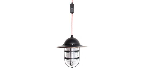 Barebones Living Pendant Light, Antique Bronze