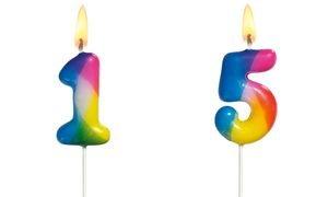 SUSY CARD Kerze Figur Regenbogen Himmel Figur: 0