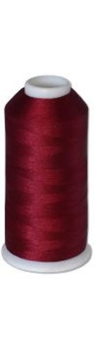 12-cone Commercial Polyester Embroidery Thread Kit - Garnet Medium P537 - 5500 yards - 40wt