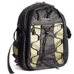 Canon Deluxe Photo Backpack 200EG for Canon EOS SLR Cameras (Black and Green)