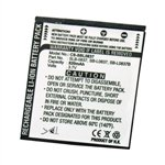 Battery for Samsung Digimax L70, Digimax L70B, L201, L83T, NV10, NV15, NV20, ...