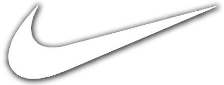 Amazon.com: Nike Swoosh Logo Vinyl Sticker Decal-White-9 Inch