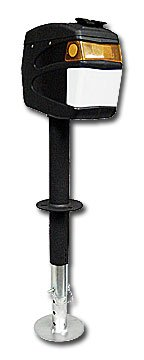 Ultra-Fab Products 38944024 Odysey Black Tongue Jack - 4000 Lbs