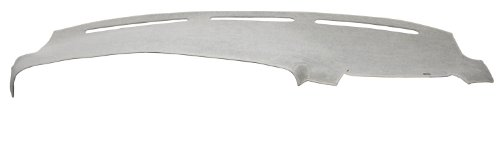 DashMat Original Dashboard Cover Dodge Van (Premium Carpet, Gray)