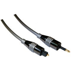 ElectroExperts 6 ft High Quality Digital Fiber Optic Audio Toslink to 3.5mm Optical Cable - 5.0mm (Lightning Cable 30 Feet compare prices)