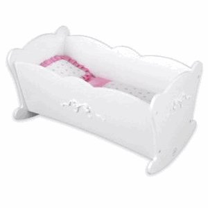 Tiffany Bow Lil Doll Cradle