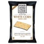 Food Should Taste Good White Corn Tortilla Chips ( 9/16 OZ)