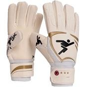 Precision Goalkeeping Schmeichel Negative Goalkeeper Gloves 10 Gold / White