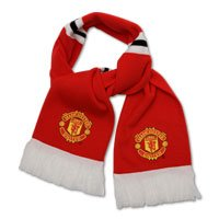 official Manchester Utd Bar Scarf image