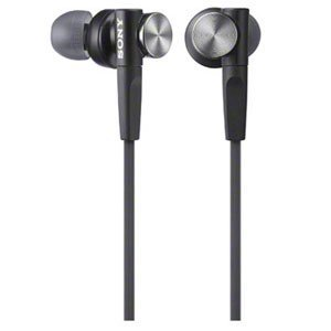 цена на Sony In-Ear Dynamic Headphones MDR-XB50-B (Black)