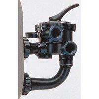 Hayward SP0710X62 Pro-Series Vari-Flo Replacement 1-1/2-Inch Control Valve Assembly with Gauge