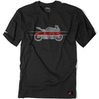Factory Effex Honda 'CBR' TShirt (Black, Medium) Picture
