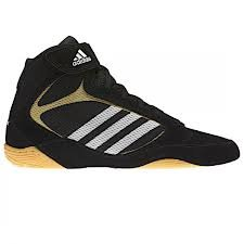 ADIDAS Adult Pretereo 2 Wrestling Boot - Black, Black, UK9.5