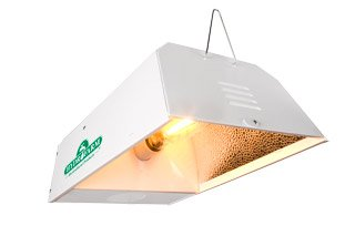 Hydrofarm SBC250 250-Watt Sunburst HPS and MH Convertible Bulb Reflector