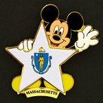 Disney's 100 Years of Dreams Pin #100 Massachusetts