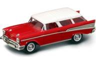 1957 Chevrolet Nomad Red 1/43 by Road Signature 94203