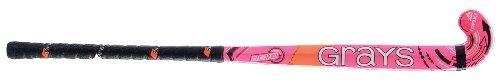 Grays Revo Junior Multicolour Maxi Kopfform Junior Spieler Holz Hockeyschläger - Rosa, 36.5L