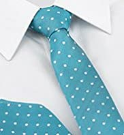 Limited Collection Spotted Tie with Handkerchief