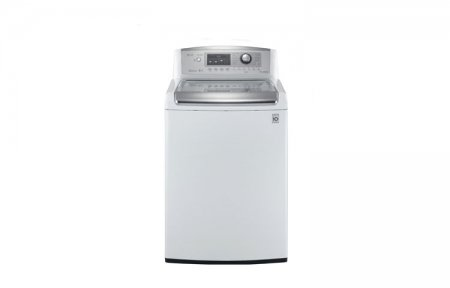 LG WT5170 4.7 Cu. Ft. Ultra Large Capacity High Efficiency Top Load Washer with WaveForce, White