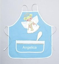 Mullins Square Girls Angel Monogrammed Holiday Apron
