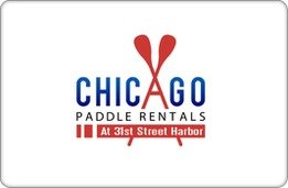 Chicago Paddle Rentals Gift Card ($25) front-759531