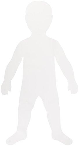 Roylco Big Huge Fingerpaint Shapes Big Kids - 18 x 35 in - Pack of 24